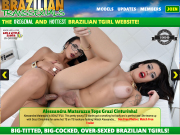 Brazilian Transexuals website