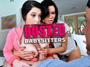Busted Babysitter website